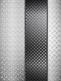 Diamond metal background and grid Royalty Free Stock Images