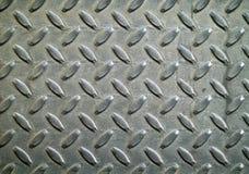 Diamond Metal Background Texture. Illuminated by sunlight Royalty Free Stock Photo