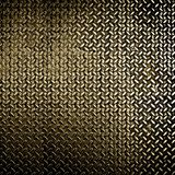 Diamond metal plate Royalty Free Stock Photos