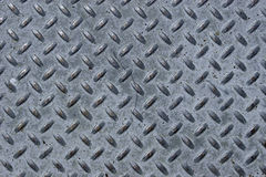 Diamond metal plate Royalty Free Stock Photography