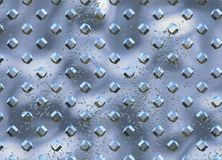 Diamond Metal plate texture Stock Photos