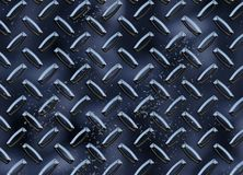 Diamond Metal plate texture Stock Photography