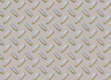 Diamond Metal plate texture Stock Images
