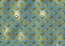 Diamond Metal plate texture Royalty Free Stock Photography