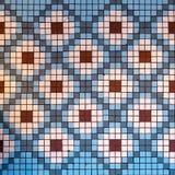 Diamond Mosaic Pattern fotografia de stock