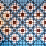 Diamond Mosaic Pattern. Floor Mosaic. Mosaic Design stock photography