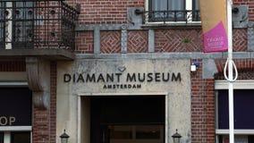 Diamond Museum in Amsterdam  City of Amsterdam stock video