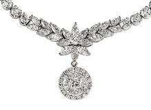 Diamond Necklace. Luxury Diamond Necklace for your special even stock images