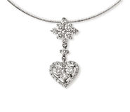 Diamond Necklace Stock Photos