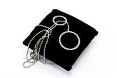 Diamond necklace Royalty Free Stock Photos