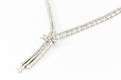 Diamond Necklace Royalty Free Stock Photos