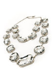 Diamond necklace Royalty Free Stock Photography