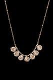 Diamond necklace isolated Stock Photography