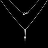 Diamond necklace Royalty Free Stock Images