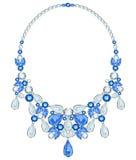 Diamond necklace Royalty Free Stock Photography