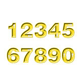 Diamond numbers Royalty Free Stock Photos
