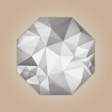 Diamond octagon shape Royalty Free Stock Image