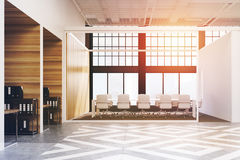 Diamond office conference room toned Royalty Free Stock Photography