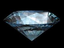 Diamond over black Stock Photo