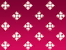 Diamond pattern. On gradient maroon vector illustration