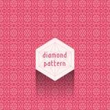 Diamond Pattern Foto de archivo libre de regalías