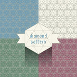 Diamond Pattern Immagine Stock