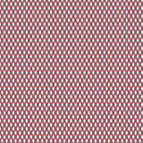 Diamond Pattern azul, rojo, y blanco ilustración del vector