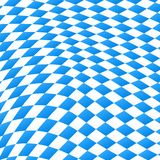 Diamond pattern in blue and white. Vector illustration of a diamond pattern in blue and white royalty free illustration
