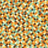 Diamond Pattern Fond sans couture de vecteur rétro Images stock