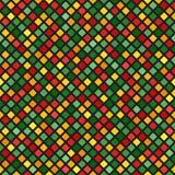 Diamond Pattern Fond sans joint de vecteur Photographie stock