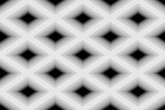 Diamond Pattern monochrome polygonal sans couture Fond abstrait géométrique Approprié au desi de textile, de tissu, d'emballage e illustration stock