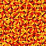 Diamond Pattern Priorità bassa senza giunte di vettore Autumn Colors Fotografia Stock