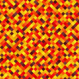 Diamond pattern. Seamless vector background. Autumn colors Stock Photography