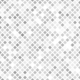 Diamond pattern. Seamless vector. Background - gray, silver and white rounded diamonds on white backdrop vector illustration