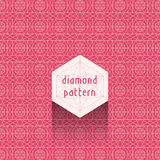 Diamond pattern royalty free stock photo