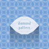 Diamond pattern Stock Photo