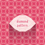 Diamond pattern Royalty Free Stock Images