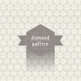Diamond pattern stock photo