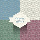 Diamond pattern Stock Image