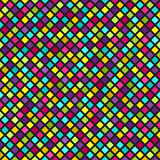 Diamond pattern. Vector seamless background Stock Photo