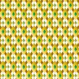 Diamond Pattern Vetora Illustration retro Imagens de Stock Royalty Free