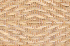 Diamond pattern woven rattan Royalty Free Stock Photos