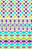 3 Diamond Patterns Seamless Royalty Free Stock Images