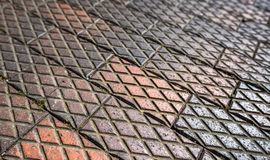 Diamond Paving Stock Photo
