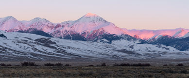 Diamond Peak ad alba Fotografia Stock Libera da Diritti