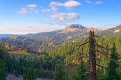 Diamond Peak, Kalifornien stockfoto