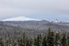 Diamond Peak Willamette National Forest imagenes de archivo