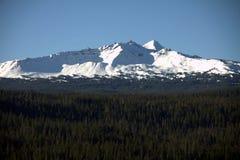 Diamond Peak in Winter Royalty Free Stock Photography