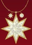 Diamond pendant Royalty Free Stock Photography