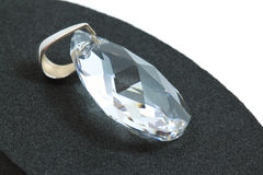 Diamond pendant Stock Photography